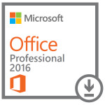 Licenta electronica ESD Microsoft Office Pro 2016, 32/64 bit All Lng EuroZone PK Lic Online DwnLd C2R NR