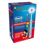 Set periute de dinti Family Edition BRAUN D16 + D10, acumulator, 8800 osc/min