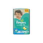 Scutece PAMPERS Active Baby 4+ Maxi Plus, Giant Pack, 70 buc, 9-16 kg
