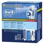 Periuta de dinti BRAUN Oral B 20-535 + Dus bucal, FlexiSoft, Interdental Cleaner, alb-albastru