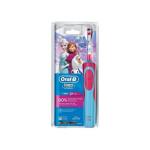 Periuta de dinti pentru copii BRAUN D12 Frozen, 7600 osc./min, acumulator, albastru - roz