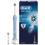 Periuta de dinti cu acumulator BRAUN Oral B PRO 2000 Cross Action