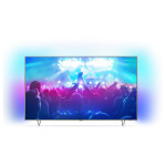 Televizor LED Smart Ultra HD, Android, Ambilight, 164cm, PHILIPS 65PUS7601/12