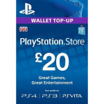 PlayStation Network Card UK 20 lire PS3 / PS4 / PS VITA