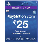 PlayStation Network Card UK 25 lire PS3 / PS4 / PS VITA