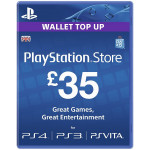 PlayStation Network Card UK 35 lire PS3 / PS4 / PS VITA