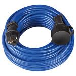 Prelungitor fisa BRENNENSTUHL 143934, 25m Schuko, H05VV-F 3G1.5m, IP44, albastru