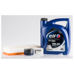 Pachet schimb ulei Premium ELF pentru Renault Kangoo 1.5 dCi