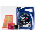 Pachet schimb ulei Standard ELF 4L pentru Renault Megane II 1.5 dCi