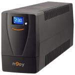 UPS NJOY Horus 600VA, LCD tactil, Schuko