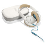 Casti on-ear cu microfon BOSE Quiet Comfort 25, Apple/Android, alb