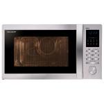 Cuptor cu microunde SHARP R722STWE, 900W, grill 1000W, 25l, inox