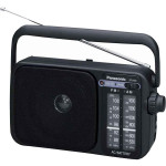 Radio portabil PANASONIC RF-2400EG9-K, FM, AM, negru