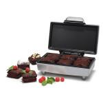 Aparat pentru preparat prajitura brownie TRISTAR SA-1125, 800 W, argintiu