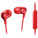 Casti in-ear cu microfon PHILIPS SHE3705RD/00, rosu