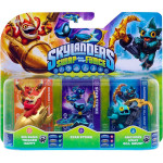 Set 3 figurine - Big Bang Trigger Happy, Star Strike, Anchors Away Gill Grunt - Pack C - Skylanders SWAP Force