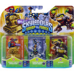 Set 3 figurine - Heavy Duty Sprocket, Twin Blade Chop Chop, Scorp - Pack D - Skylanders SWAP Force