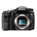 Camera foto DSLR SONY Alfa 77 + obiectiv APS- C 16-50MM, 24.3 Mp, negru