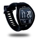 Smartwatch EVOLIO  X-Fit, afisaj E-ink, protectie IPX4, Negru