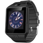 Smartwatch STAR Rush Gri Si Curea Silicon Neagra, SIM