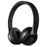 Casti on-ear cu microfon Bluetooth BEATS Solo3 Wireless, gloss black