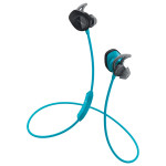Casti in-ear cu microfon BOSE SoundSport Wireless 761529-0020, albastru