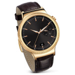 Smartwatch HUAWEI W1 Golden, Brown Leather