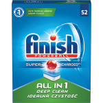 Tablete FINISH All in One, 52 bucati