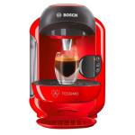 Espressor BOSCH Tassimo Vivy TAS1253, 0.7l, 1300W, 3.3 bar, rosu