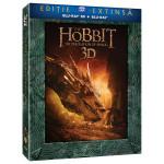 Hobbitul 2: Dezolarea lui Smaug Editie extinsa cu 5 discuri Blu-ray 3D + Blu-ray