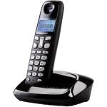 Telefon DECT GRUNDIG D160, digital, 80 memorii, 300m, negru
