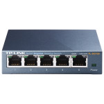 Switch TP-LINK TL-SG105, Gigabit 5 porturi, negru