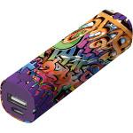 Acumulator extern universal, TRUST Graffiti Text 20867, 2600mAh