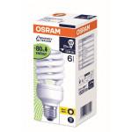 Bec fluorescent OSRAM DTwist, 23W, E27, 2700K, alb cald