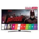 Televizor LED Smart Ultra HD, webOS 3.0, 109cm, LG 43UH661V