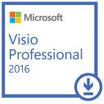 Licenta electronica ESD Microsoft Visio Professional 2016, All Lng PK Lic Online DwnLd C2R NR