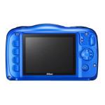 Camera foto digitala NIKON Coolpix W100, 13.2Mp, 3x, 2.7 inch, Blue