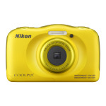 Camera foto digitala NIKON Coolpix W100, 13.2Mp, 3x, 2.7 inch, Yellow