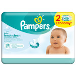Servetele umede PAMPERS Baby Fresh Clean, 2 x 64 buc