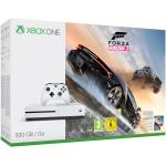 Consola MICROSOFT Xbox One S 500 GB, alb + Joc Forza Horizon 3