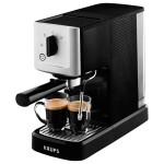 Espressor KRUPS Calvi XP 3440, 1.1l, 1460W, 15 bar, negru - argintiu