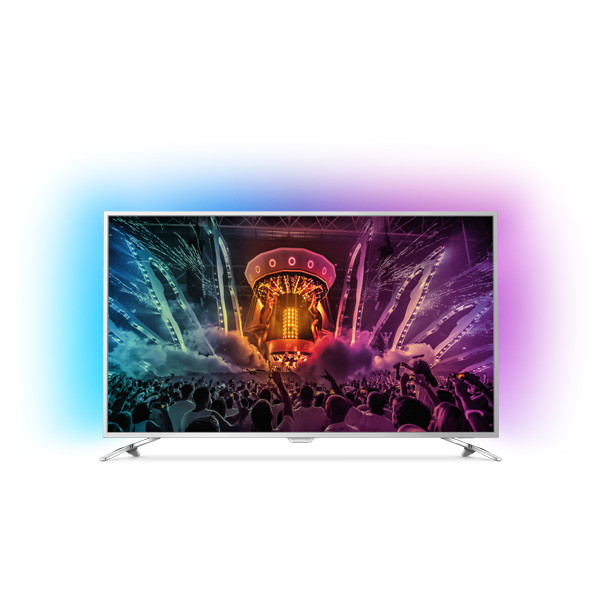 Televizor LED Smart Ultra HD, Android, 123cm, PHILIPS 49PUS6561/12