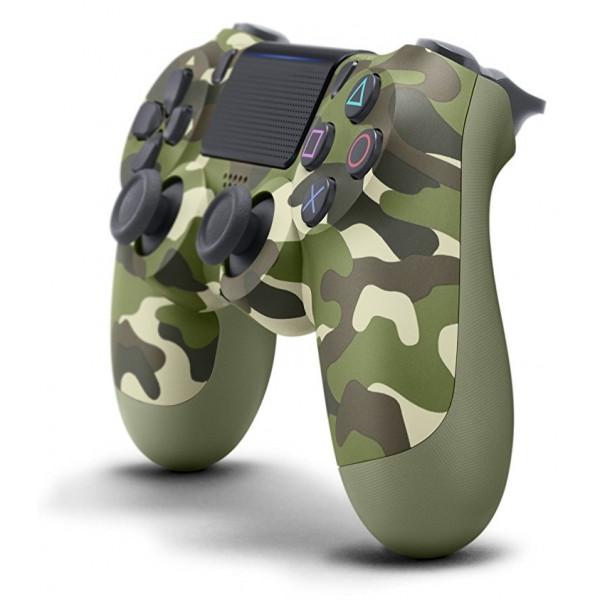 Controller wireless DUALSHOCK 4 V2 SONY PS4, green camo