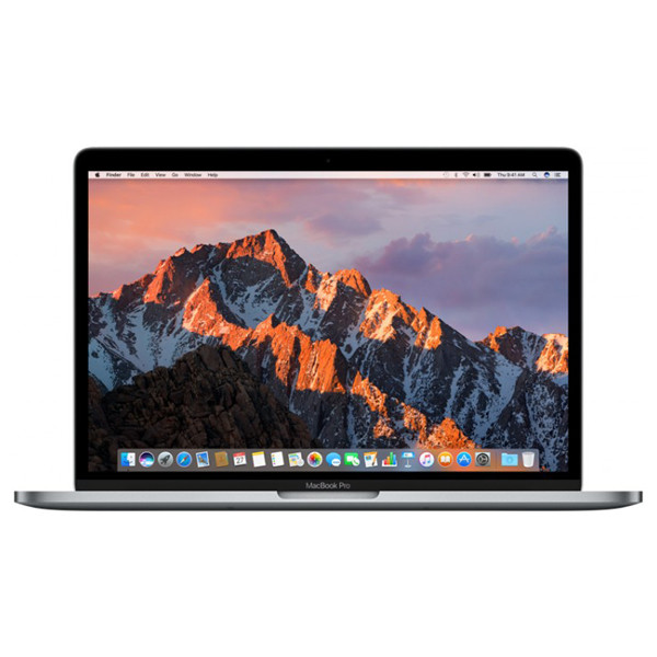 "Laptop APPLE MacBook Pro 13"" Retina Display mll42ro/a, Intel® Core™ i5 pana la 3.1GHz, 8GB, 256GB, Intel Iris Graphics 540, macOS Sierra, Space Gray - Tastatura layout RO"