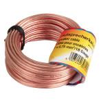 Cablu boxe 2 x 0.75 mm² HAMA 30721, 10 m