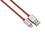 Cablu de incarcare / sincronizare microUSB universal HAMA 80506 Color Line, Red