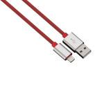 Cablu de incarcare / sincronizare Lightning pentru iPhone, HAMA 80519 Color Line, 0.5m, Red