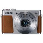 Camera foto digitala CANON PowerShot G9 X, 20.2Mp, 3x, 3 inch, Silver
