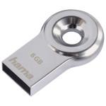 Memorie portabila HAMA Drop 123953, 16GB, argintiu