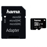 Card de memorie + adaptor HAMA 124150 microSDHC 16 GB